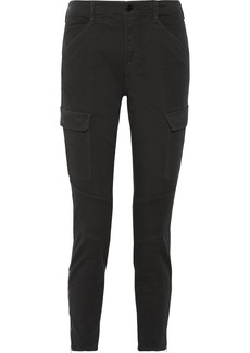 Houlihan cropped cotton-blend twill skinny pants