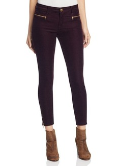J Brand Iselin Corduroy Skinny Jeans in Blackberry