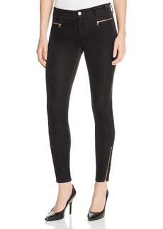 J Brand Iselin Corduroy Skinny Pants in Royal Green