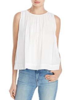 J Brand Isla Shirred Top