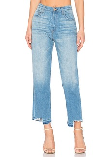 J Brand Ivy High Rise Crop Straight. - size 25 (also in 26,27,28,29,30)