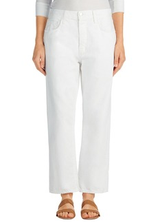 J Brand Ivy High Rise Crop Straight Leg Jeans