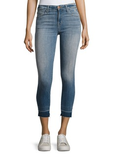 J Brand Ivy High-Rise Straight Leg Denim Jeans