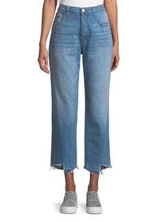 J Brand Ivy High-Rise Straight Leg Denim Jeans