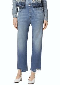 J Brand Ivy High Waist Crop Straight Leg Jeans (Revamp)