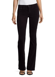 J BRAND Janey Solid Pencil-Leg Jeans
