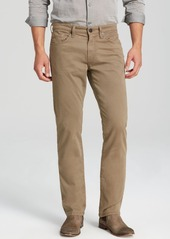 J Brand Kane Slim Straight Fit Jeans in Auburn