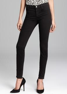 J Brand Jeans - Luxe Sateen 485 Super Skinny in Black