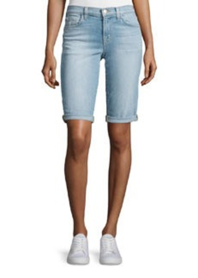 J Brand Beau Denim Bermuda Shorts