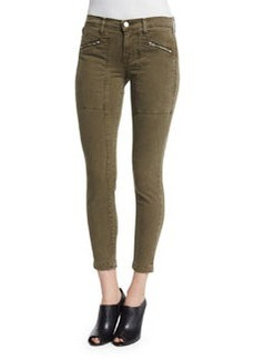 J Brand Jeans Genesis Mid-Rise Utility Cropped Pants