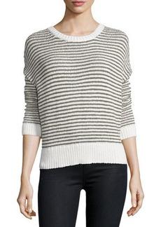 J Brand Alexandria Striped Long-Sleeve Sweater