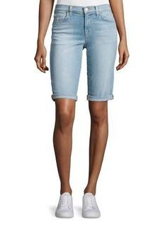 J Brand Jeans Beau Denim Bermuda Shorts