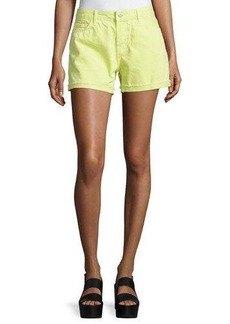 J Brand Jeans Cuffed Cutoff Jean Shorts