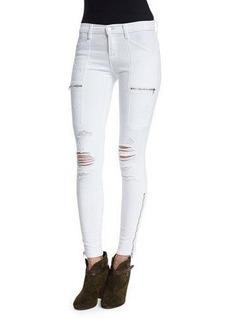 J Brand Jeans Kassidy Distressed Skinny Jeans