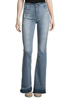 J Brand Jeans Maria High-Waist Flare Jeans