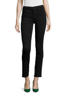 J Brand Jeans Maria Mid-Rise Straight-Leg Jeans