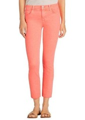 J Brand Jeans Mid-Rise Denim Ankle Jeans
