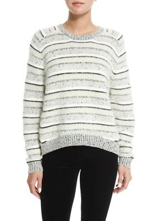 J Brand Ramona Striped Long-Sleeve Sweater