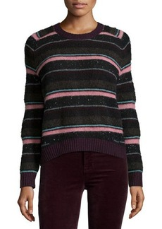 J Brand Jeans Ramona Striped Long-Sleeve Sweater