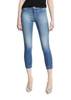 J Brand Jeans Skeyla Mid-Rise Super-Skinny Capri Jeans