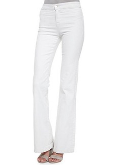 J Brand Tailored High-Rise Flare Jeans