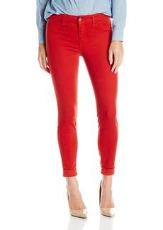 J Brand Jeans Women's 8020 Luxe Sateen Anja Cuffed Cropped Jean