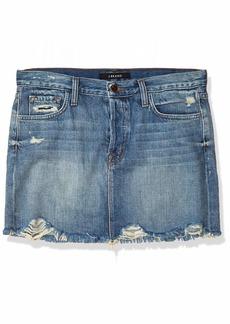 J Brand Jeans Women's Bonny Mid Rise Mini Skirt