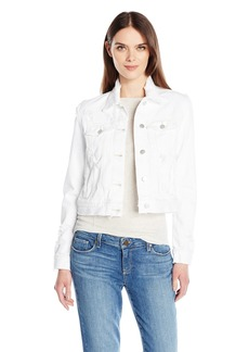 J Brand Jeans Women's Harlow Jacket in Fallen Destruct