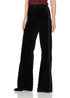 J Brand Jeans Women's Isabella High Rise Tailored Velvet Flare Pant