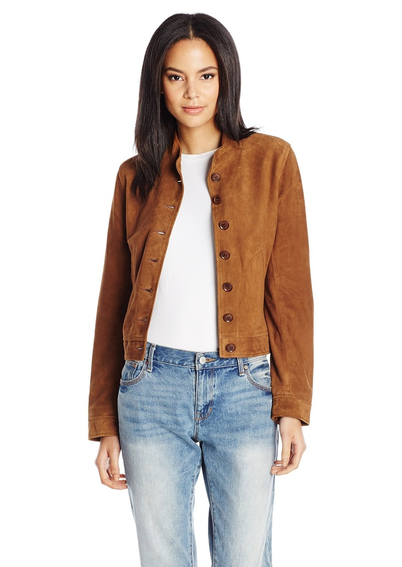 J Brand J Brand Jeans Women's Marquita Bomber Jacket in Suede L ...