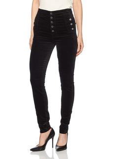 J Brand Jeans Women's Natasha Sky High Skinny Velvet Pant in