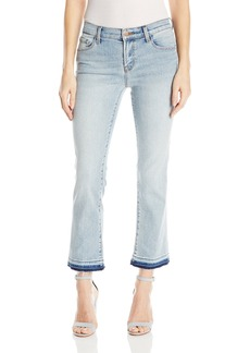 J Brand Jeans Women's Selena Mid Rise Crop Bootcut Jeans