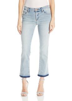 J Brand Jeans Women's Selena Mid Rise Crop Bootcut Jeans