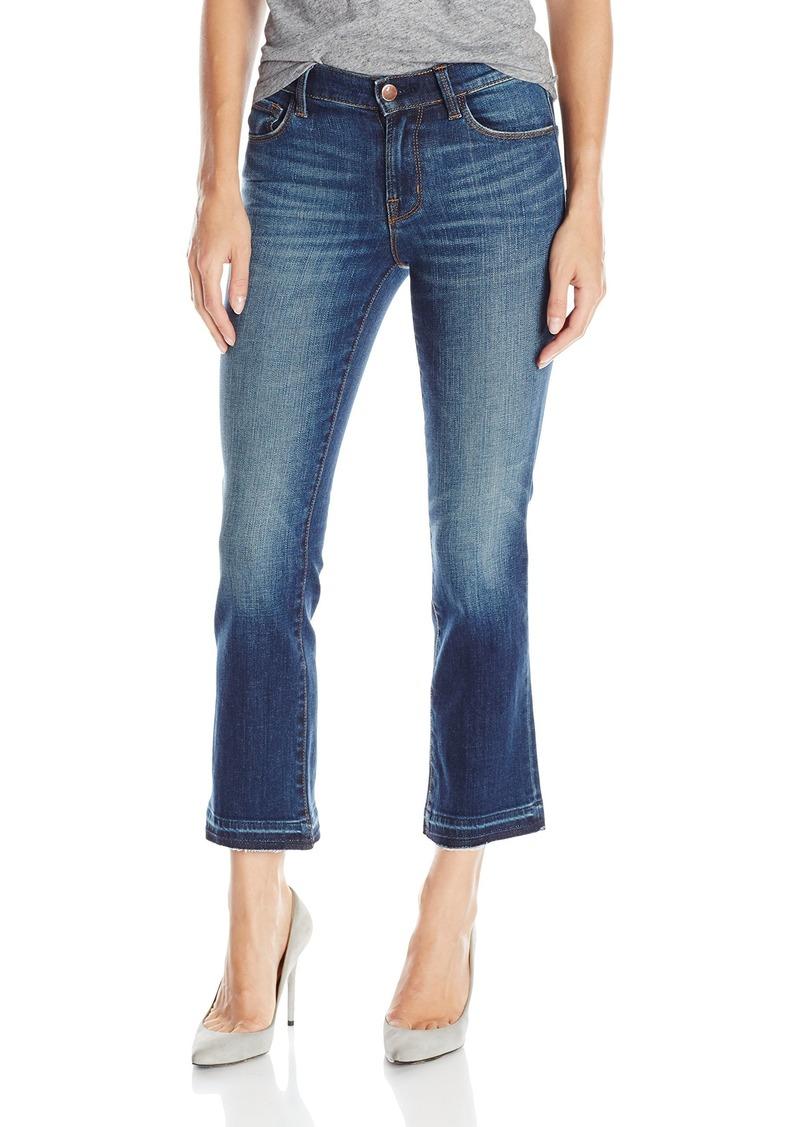 J Brand Jeans Women's Selena Mid-Rise Cropped Bootcut Jean