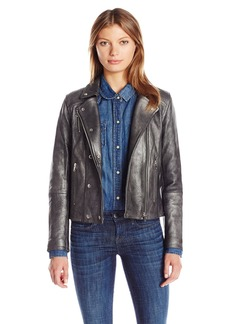 J Brand Jeans Women's Valo Leather Jacket