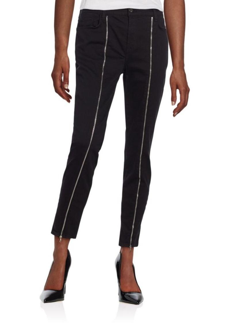 J BRAND Jewel Zip Skinny Jeans