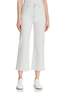 J Brand Joan High Rise Crop Jeans in Powdered