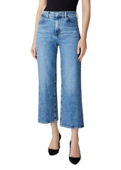 J Brand Joan High-Rise Crop Wide Leg Jeans in Chadron
