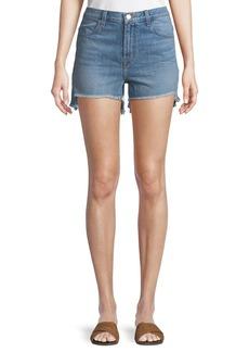 J Brand Joan High-Rise Denim Shorts
