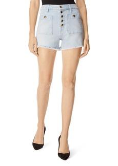 J Brand Joan High Rise Denim Shorts in Elara