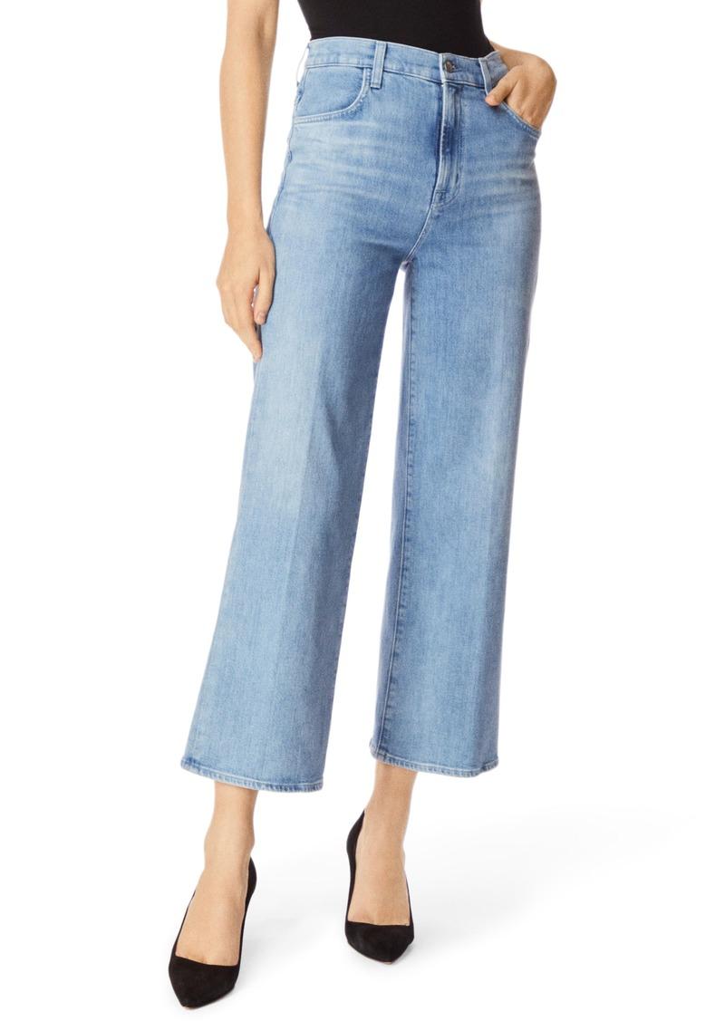 J Brand Joan High Waist Crop Flare Jeans (Andromeda)