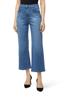 J Brand Joan High Waist Crop Flare Jeans (Andromeda)