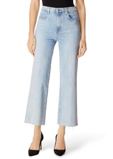 J Brand Joan High Waist Crop Wide Leg Jeans (Aerglo)