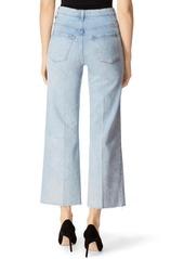 J Brand Joan High Waist Crop Wide Leg Jeans (Aerglo)