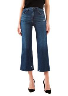J Brand Joan High Waist Crop Wide Leg Jeans (Doubletake)