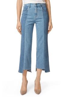 J Brand Joan High Waist Crop Wide Leg Jeans (Genesis)