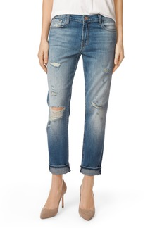 J Brand Johnny Boyfriend Jeans