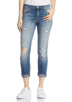 J Brand Johnny Boyfriend Jeans in Angeles