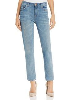 J Brand Johnny Boyfriend Jeans in Sentimental