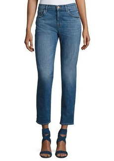 J Brand Johnny Mid-Rise Boy-Fit Jeans